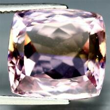 14.5x13.4mm Ametrine Purple and Yellow Octagon Gemstone 14.3cts! VVS Quality