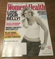 Women's Health 2008 October: ELIZABETH BANKS Fitness Health Tips