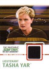 2005 QUOTABLE STAR TREK TNG - C8 COSTUME Lieutenant Tasha Yar