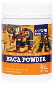 Power Super Foods Organic Maca Powder (Bottle) 350g