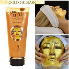 24K Gold Mask L Glutathione Cream Soft Facial Treatment 220 ml Pure Beauty Skin