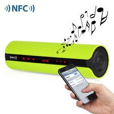 Tragbar NFC Kabellos Bluetooth Lautsprecher Redner Speaker FM/TF Card AUX MIC DE