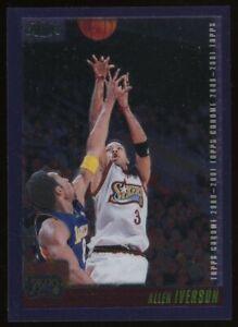 2001 Topps Chrome Purple Allen Iverson Philadelphia 76ers