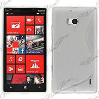 Housses Coque Etui Trans TPU S Silicone GEL Motif S S-line Vague Nokia Lumia 930