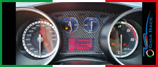 adesivi auto alfa romeo giulietta cornice tachimetro sticker decal carbon look