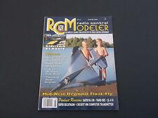 AUGUST 2000 RCM RADIO CONTROL MODELER MAGAZINE  SAITO FA-180    *VG-COND*
