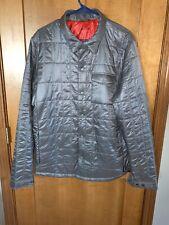 NWT Cotopaxi Kusa Llama/Polyester Filled Shirt Jacket - Grey - Large