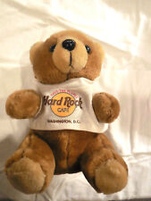 Hard Rock Cafe Washington Plush Herrington Bear with Tee Shirt