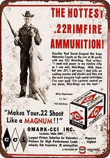 "9"" x 12"" Metal Sign - 1968 CCI .22 Ammunition - Vintage Look Reproduction"