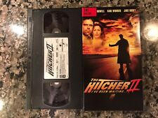 The Hitcher II I've Been Waiting Vhs! 2003 Thriller! Payback A Killer Within