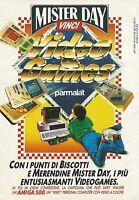 X2525 Merendine MISTER DAY - Parmalat - Pubblicità 1991 - Advertising