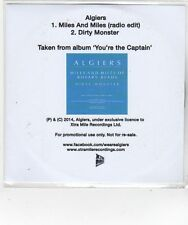 (FL688) Algiers, Miles and Miles - 2014 DJ CD