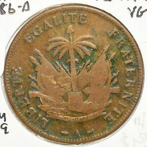 Haiti 1886 A 2 Centimes 197359 combine shipping