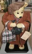 "TED'S GROWN UP BEARS  ""HOBO TINKER"" LTD EDITION  PORCELAIN HOBO 125/2500 FAULT"