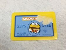 2001 McDonald's Cash Register Replacement Pretend Play Credit Card
