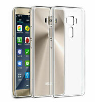 360° Shockproof Clear Crystal Soft TPU Gel Back Case Cover For ASUS Zenfone