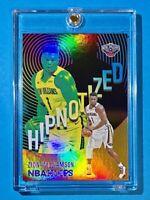Zion Williamson HIPNOTIZED HOLO FINISH RARE INSERT 2021 PANINI NBA HOOPS - Mint!