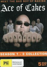Ace Of Cakes - Season 1 To 3 - Brand New - Region 4 - Australian Seller