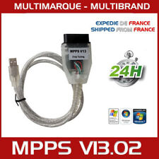 MPPS MPPS V13 EDC16 ECU Flash Reprogrammation Interface Métal SCANNER Détecteur