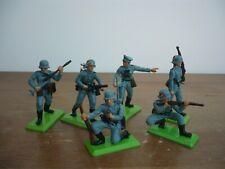 BRITAINS DEETAIL FULL SET 6 WW2 SERIES 2 GERMAN SOLDIERS
