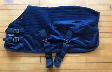 """Le Mieux Thermo Cool Cooler Blanket Rug Miniature Shetland Navy Blue 36"""" 3'"""