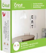 Cricut Cartridge HOME DECOR VINYL WALL ART New in Package