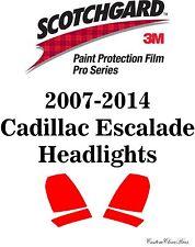 3M Scotchgard Paint Protection Film Pro Series Clear Bra 2014 Cadillac Escalade