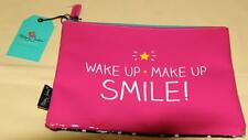HAPPY JACKSON MAKE UP BAG WAKE UP MAKE ME SMILE  -NEW WITH TAGS