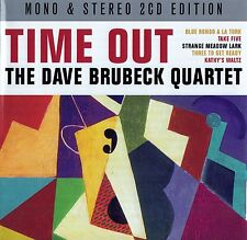 THE DAVE BRUBECK QUARTET : TIME OUT / 2 CD-SET - TOP-ZUSTAND