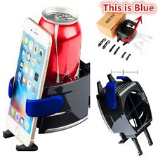Auto Cup Holder+Adjustable Car Drink Stand Cell Phone Holder Air Vent Mount Auto