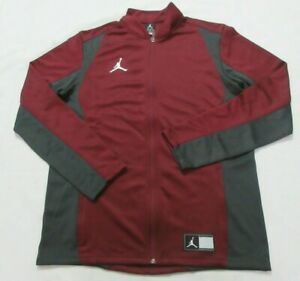 Jordan Trainng 924707 Burgundy/gray Men Jacket Size L