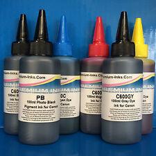 600ml PIGMENT/DYE Refill Ink CANON Pixma MG6150 MG6220 MG6250 MG8150 MG8250 NOEM