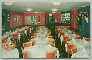 New York City~La Scala Italian Restaurant~Vintage Postcard