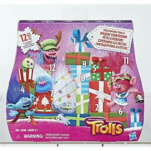 Dreamworks Trolls Advent Holiday Christmas Calendar Prize Box Countdown Figures