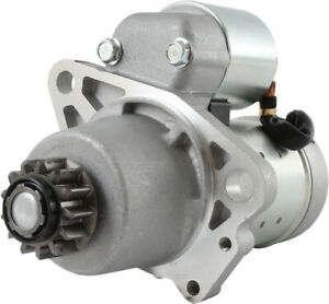 NEW STARTER FITS NISSAN TRUCK X-TRAIL 2001-07 DSN954 S114844 S114844R 233008H00R