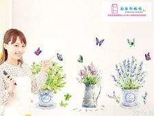 Butterfly Vase Home Room Decor Removable Wall Stickers Decal Decoration