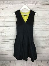 TED BAKER Puffball Party Dress - Size 2 UK10 - Black - Great Condition