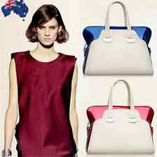 Patent Leather Women Lady Handbag Shoulder Bag Classy Tote Red Blue CSBAG 06