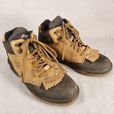Roper Men's Horseshoe Kiltie Riding Boot 20-350-810 Brown 2 Tone Size 8