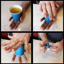 VANISHING JUICE OR MILK COLA COFFEE BEER MAGIC CUP DRINK VANISH TRICK DISK MOJOE