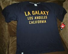 Los Angeles Galaxy sweatshirt men's large NEW with tags Adidas MLS blue COTTON