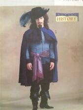 Butterick Sewing Pattern 4541 Mens Musketeer Delano Cavalier Costume Sz 34-38 UC