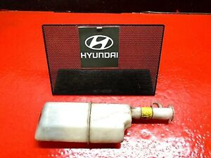 01-06 HYUNDAI ELANTRA 2.0L RADIATOR OVERFLOW COOLANT RESERVOIR BOTTLE W CAP OEM