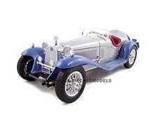 1932 ALFA ROMEO 8C 2300 SPIDER TOURING SILVER 1/18 DIECAST CAR BY BBURAGO 12063