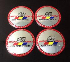 Wheel 56mm Center Cap Sticker Set 4pcs Mugen Power Specialist