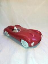 RARE Mehanotehnika IZOLA Yugoslavia Jaguar D Type Plastic Toy