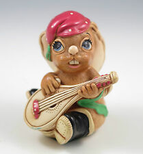 Vintage Pendelfin England Casanova - Red, Whimsical Bunny Figurine