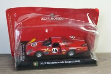 Alfa Romeo 33/2 Daytona Coda Lunga 1968 - M4 Models 1:43 in Box *37866