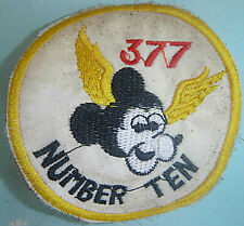 MICKEY MOUSE MEDEVAC - Patch - US ARMY 377th MEDICAL CO - Vietnam War - 8408