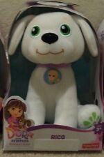 DORA & FRIENDS PLUSH PET DOG RICO clm66 *NEW*